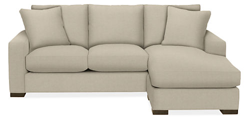 "Metro Custom 88"" Sofa with Reversible Chaise"