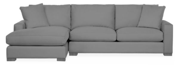 """Metro 112"""" Sofa with Right-Arm Chaise"""