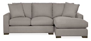 """Metro 94"""" Sofa with Right-Arm Chaise"""