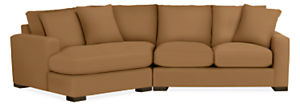 "Metro 121"" Sofa with Left-Arm Angled Chaise"