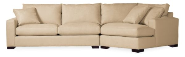 "Metro 137"" Sofa with Right-Arm Angled Chaise"
