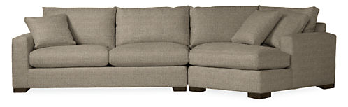 Metro 137 Sofa With Right Arm Angled Chaise