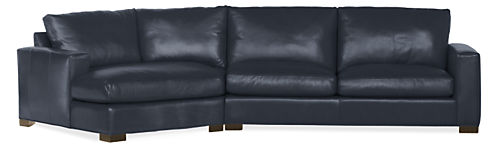 "Metro 137"" Sofa with Left-Arm Angled Chaise"