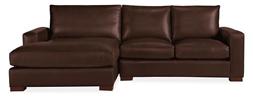 """Metro Custom 94"""" Sofa with Left-Arm Chaise"""