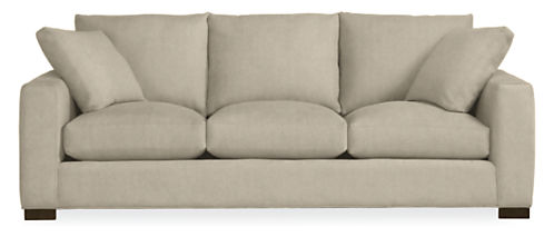"Metro Custom 88"" Three-Cushion Sofa"