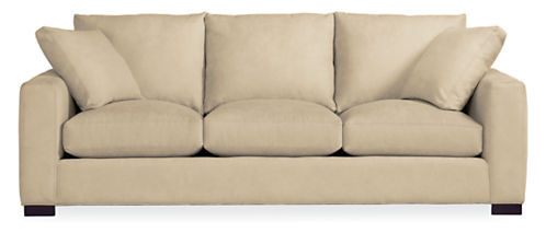 "Metro Custom 88"" Three-Cushion Sofa"