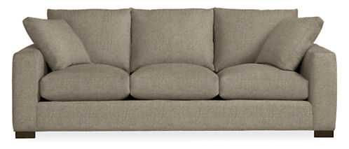 Metro 88 Three Cushion Guest Select Queen Sleeper Sofa