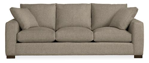 "Metro 88"" Three-Cushion Sofa"