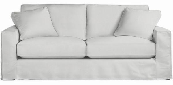 Modern Slipcovered Sofas Chairs