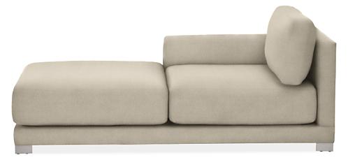 "Mira Custom 41"" Left-Arm Chaise"