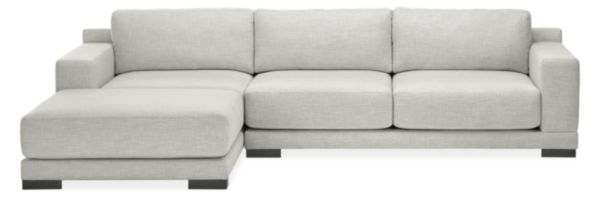 "Mira Custom 120"" Sofa with Left-Arm Chaise"