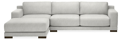 """Mira 120"""" Sofa with Left-Arm Chaise"""