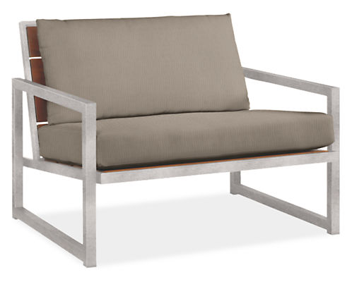"""Montego 42"""" Lounge Chair with Cushions"""