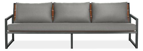 "Montego 97"" Sofa with Cushions"