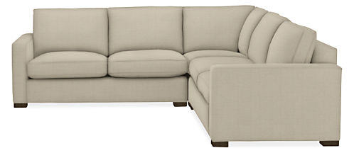 "Morrison Custom 112x112"" Three-Piece Sectional"