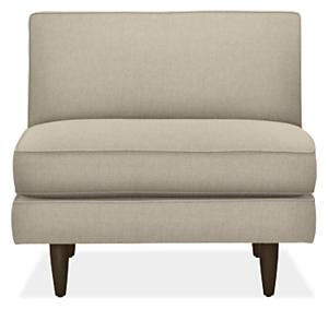 Naomi Custom Armless Chair