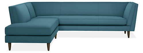 "Naomi 98x95"" Two-Piece Sectional with Right-Back Sofa"