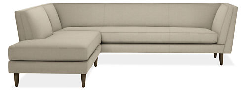 """Naomi Custom 98x95"""" Two-Piece Sectional with Right-Back Sofa"""
