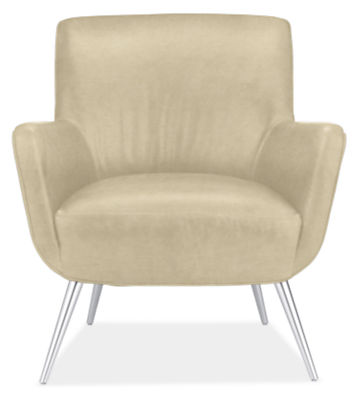 Nichols Leather Chair - Modern Accent & Lounge Chairs - Modern ...