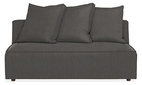 "Oasis 60"" Armless Sofa"