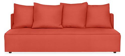 "Oasis 80"" Armless Sofa"