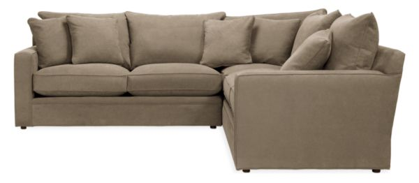 "Orson Custom 111x111"" Three-Piece Sectional"