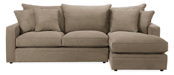 """Orson Custom 103"""" Sofa with Left-Arm Chaise"""
