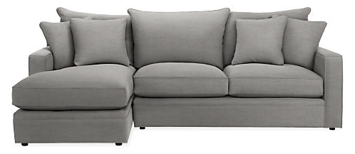 """Orson 103"""" Sofa with Left-Arm Chaise"""