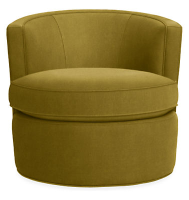 Otis Swivel Chair Modern Accent Lounge Chairs Living Room Furniture Board