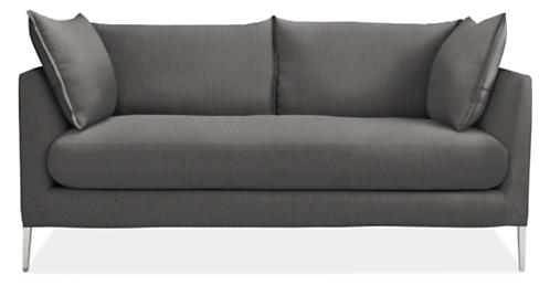 "Palm 72"" Bench-Cushion Sofa"