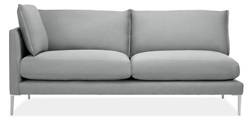 """Palm 77"""" Left-Arm Sofa"""