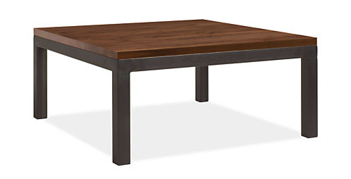 Parsons 36w 36d 16h Coffee Table