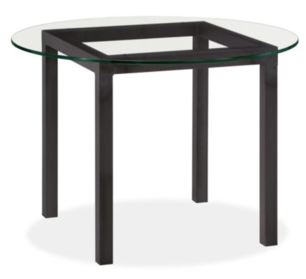 parsons round dining tables - modern dining tables - modern dining