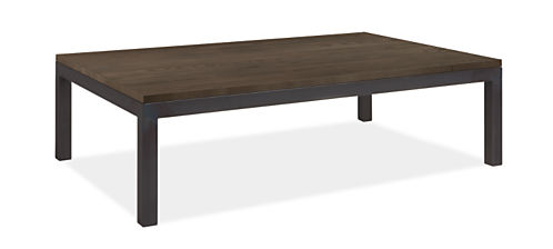 Parsons 60w 36d 16h Coffee Table