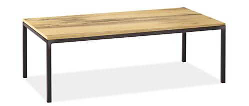 Parsons 48w 24d 16h Thin Leg Coffee Table