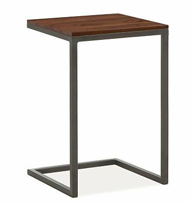 Parsons 18w 18d 25h C-Shaped End Table