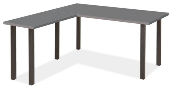 L Shaped Desk Images parsons leg l-shaped desks - modern desks & tables - modern office