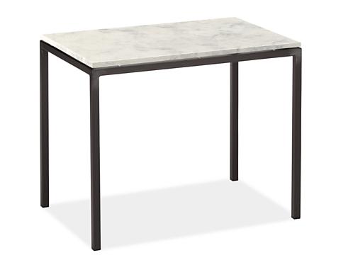 Parsons 30w 20d 24h Thin Leg End Table