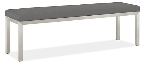Portica 58w 15d 18h Outdoor Bench