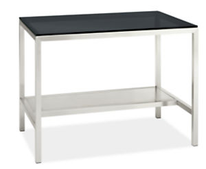 Portica 48w 30d 35h Narrow Shelf Counter Table