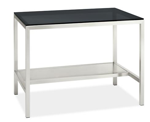 Portica 48w 30d 35h Narrow Shelf Counter Table