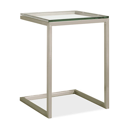 Portica 18w 18d 25h C-Shaped End Table