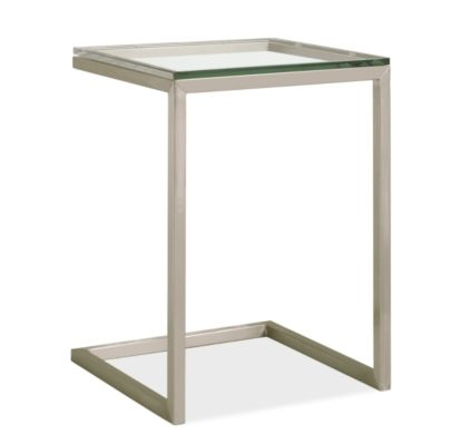 Portica 18w 18d 25h Outdoor C-Shaped End Table