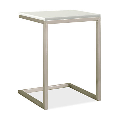Portica 18w 18d 25h Outdoor C-Shaped Side Table