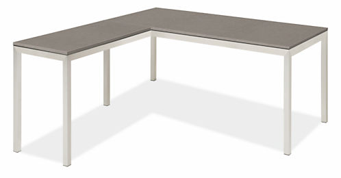 Portica L-Shaped Desk 60w 24d 29h with 36w 18d Return