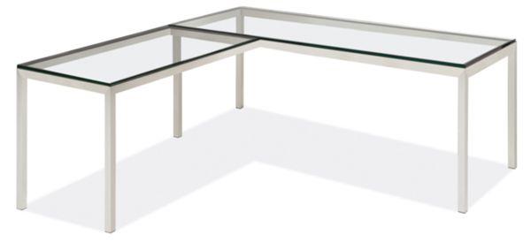 Portica L-Shaped Desk 72w 30d 29h with 36w 18d Return