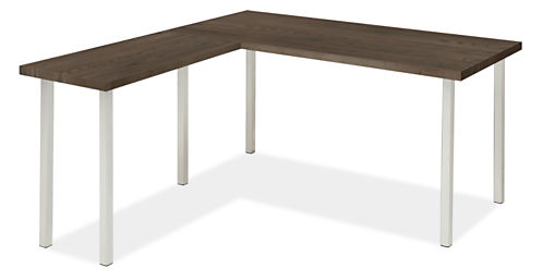Portica Leg L-Shaped Desk 60w 30d 29h with 36w 18d Return