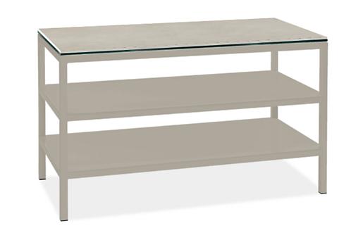 Pratt 60w 30d 35h Two-Shelf Counter Table