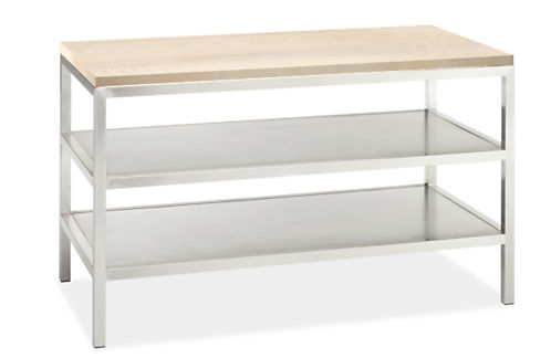 Portica 60w 30d 35h Two-Shelf Counter Table