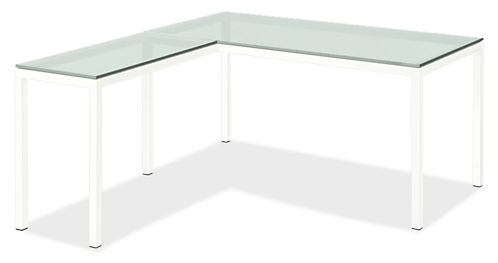 Pratt L-Shaped Desk 72w 36d 29h with 36w 18d Return